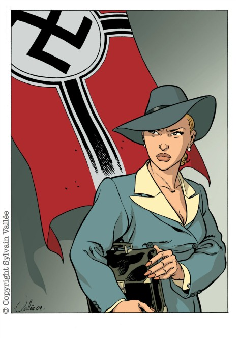 Illustration Lucie drapeau